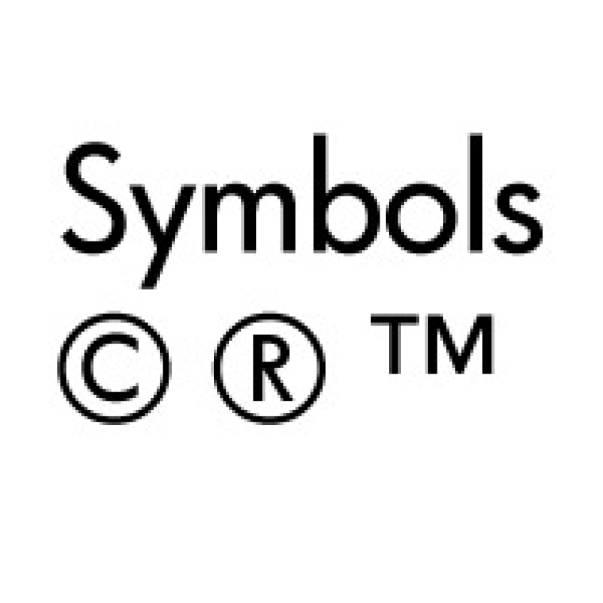 Trademark Symbol Copy Paste Zrom