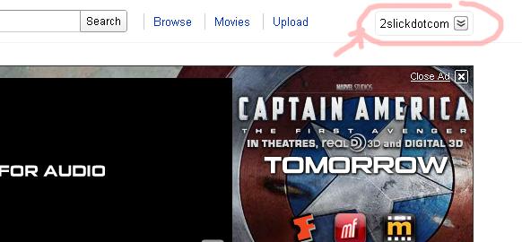youtube account icon