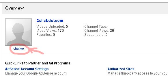 youtube change icon