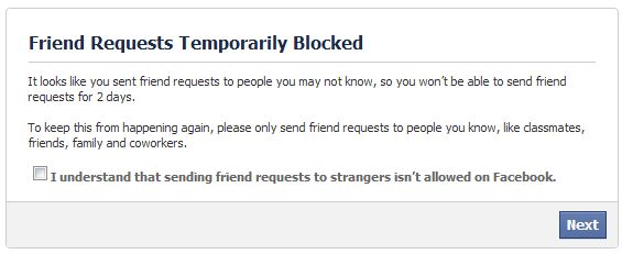 message friend facebook cant profile does that mean blocked