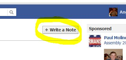 Write a facebook app 2012
