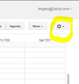 how to show google calendar on website