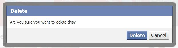 how to delete facebook leave facebook